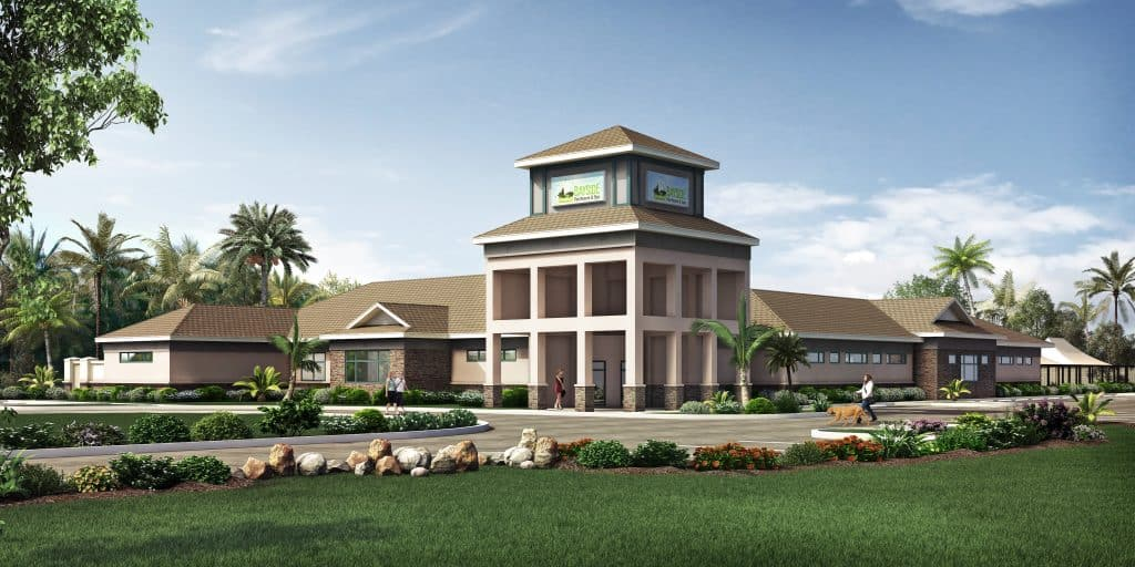 Bayside Pet Resort Lakewood Ranch Artist Rendering