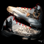 New England Patriots David Andrews Warrior Dog Foundation My Cause My Cleats 2018