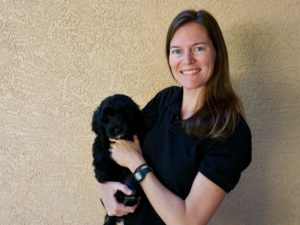 sarah ford dog trainer in lakewood ranch at bayside pet resort